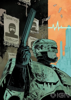 Imagem do site IGN mostra prévia do Robocop   - Reprodução/IGN