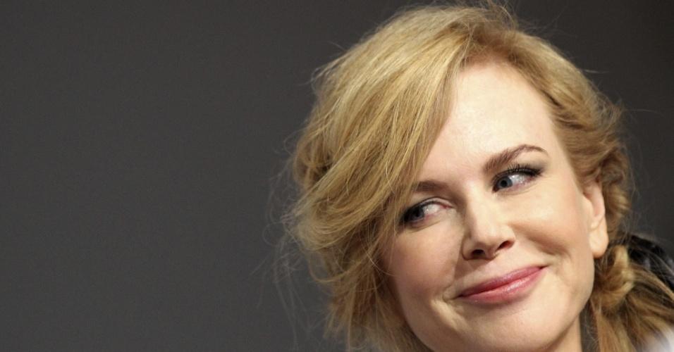 15.mai.2013 - A atriz australiana Nicole Kidman, jurada do Festival de Cannes, durante coletiva de imprensa