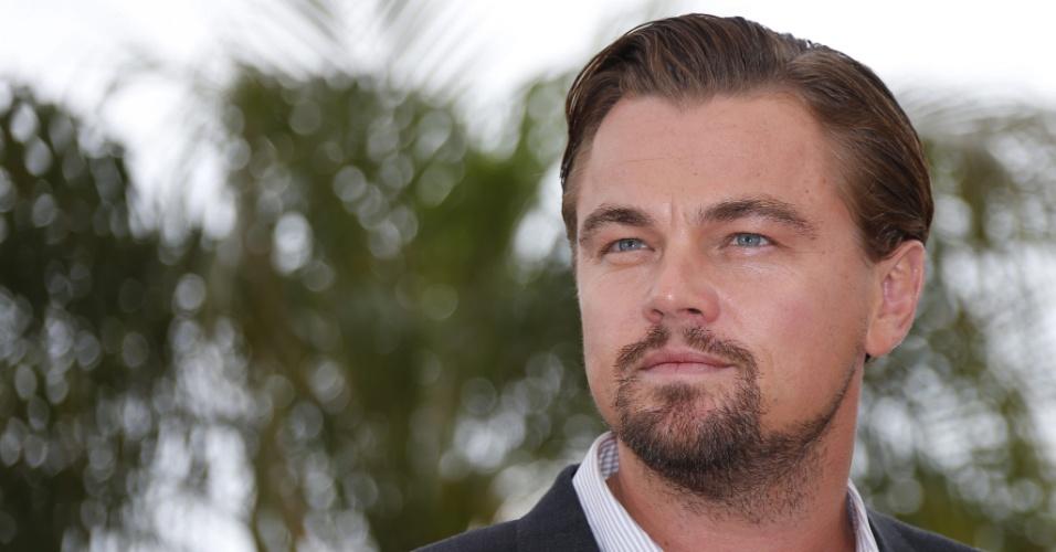 15.mai.2013 - Leonardo DiCaprio divulga