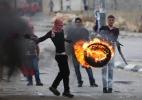 Milhares de palestinos protestam nos 65 anos da expulsão - Mohamad Torokman/Reuters