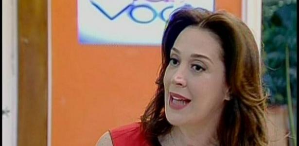 Claudia Raia durante participação no