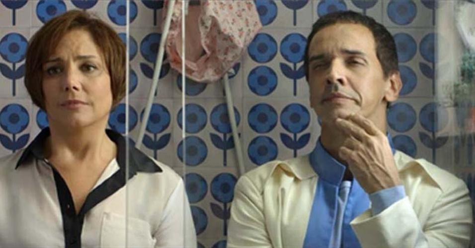 Heloísa Périssé e Marcelo Saback em cena do filme