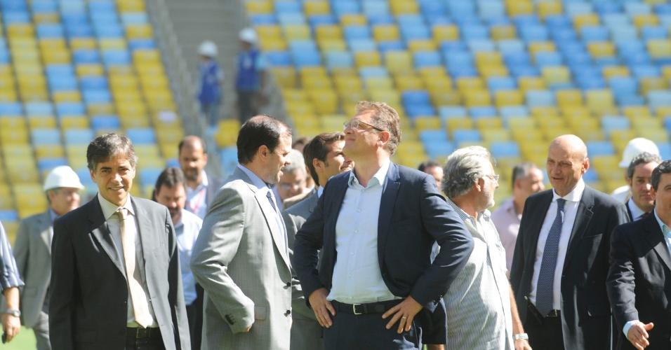 Jérôme Valcke admite Maracanã inacabado na Copa das Confederações: