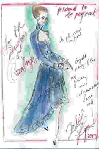 """O estilista da Chanel, Karl Lagerfeld, desenhou para Kate Middleton um vestido de gestante em renda azul com gola alta, decote amplo,  mangas longas e saia mullet. """"Acho que esse vestido tem bastante o estilo dela"""", disse o estilista - Divulgação"""
