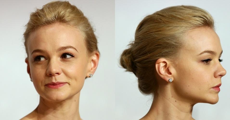 Penteado de Carey Mulligan em Cannes