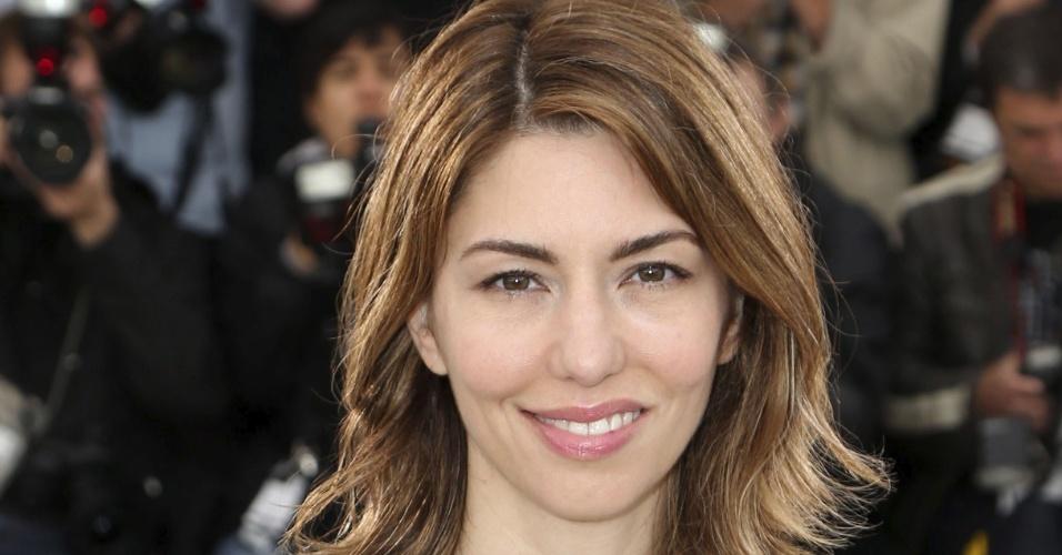 16.mai.2013 - A diretora Sofia Coppola posa para sessão de fotos para a divulgação de