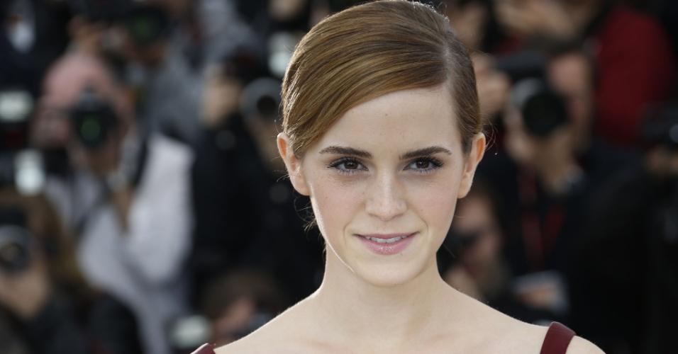 16.mai.2013 - Emma Watson divulga