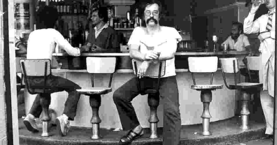 Jornalista, Escritor e Poeta Paulo Leminski, em foto de 1984 - Avani Stein/Folhapress