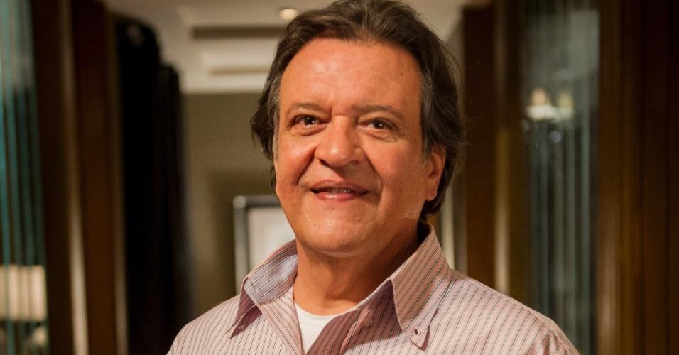 """Luis Mello é Atílio em """"Amor À Vida"""""""