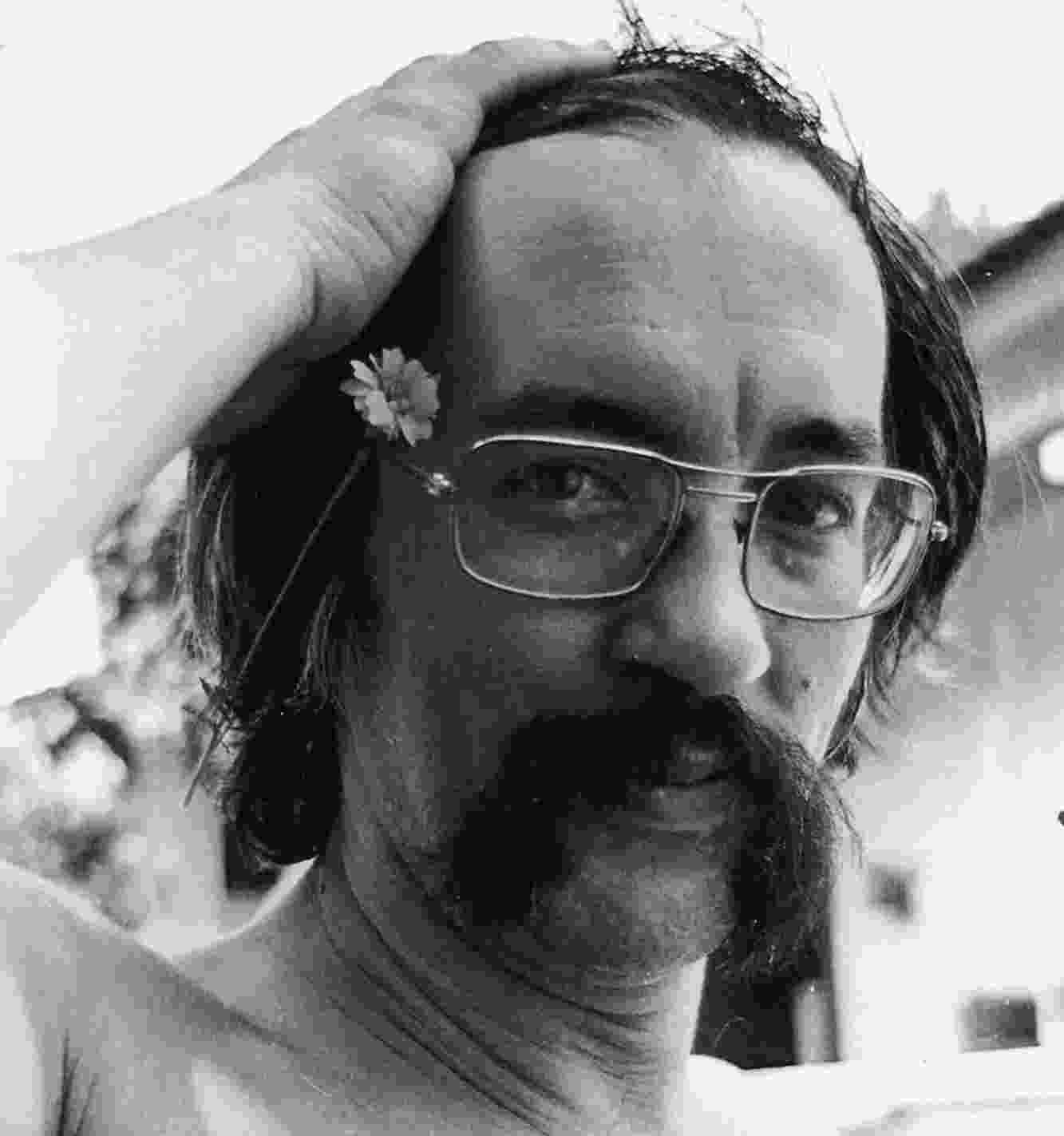 O escritor paranaense Paulo Leminski (1944-1989), em foto de arquivo, sem data - Paulo Ricardo