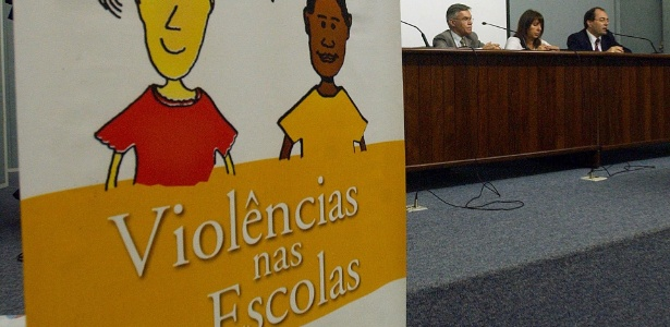 A violência nas escolas preocupa cada vez mais as autoridades, que realizam seminários para compreender o problema - Marcello Casals Jr./ABr