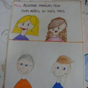 Desenho feito por aluno da rede municipal de Contagem (MG) - Acervo Pessoal