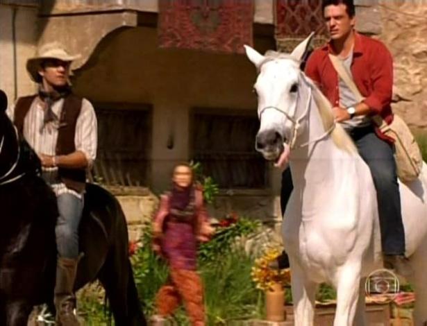 Zyah e Théo partem rumo as montanhas para procurarem Jéssica Vitória