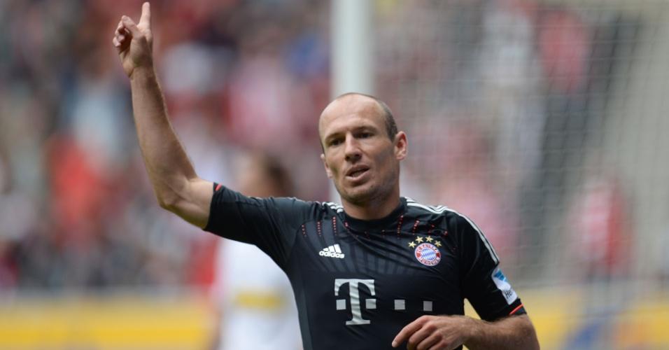 18.mai.2013 - Após estar perdendo por 3 a 1, o Bayern de Munique conseguiu a virada e venceu por 4 a 3