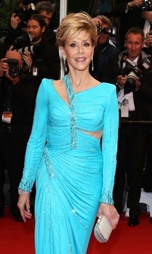 18.mai.2013 - Jane Fonda no Festival de Cannes