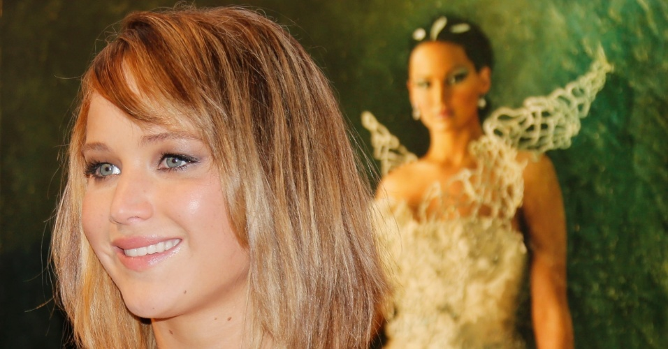 18.mai.2013 - Jennifer Lawrence promove o filme