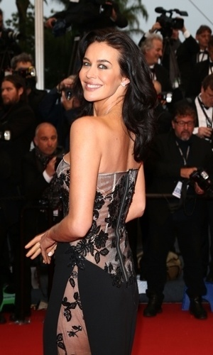 18.mai.2013 - Megan Gale no Festival de Cannes
