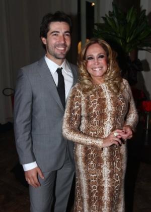 Susana Vieira e o namorado, Sandro Pedroso