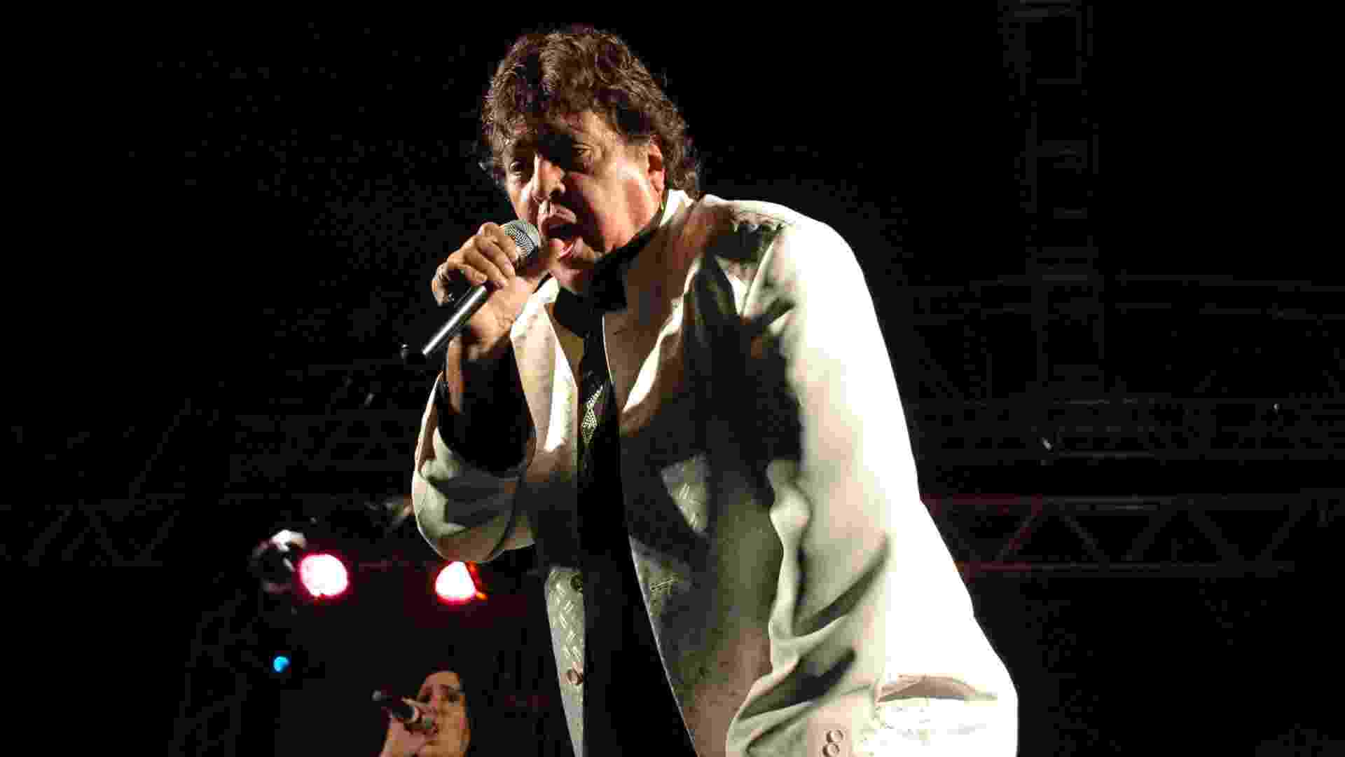 18.mai.2013 - Apresentação do cantor Sidney Magal no Largo do Arouche durante a 9ª edição da Virada Cultural em São Paulo (SP) - J. Duran Machfee/Futura Press/Estadão Conteúdo