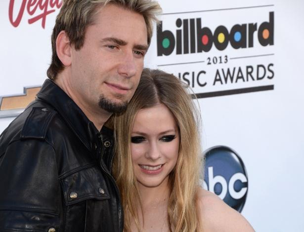 Avril Lavigne e Chad Kroeger estão se separando
