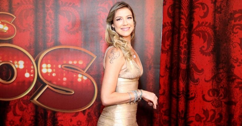 """19.mai.2013 - A atriz Luana Piovani é uma das participantes da """"Danças dos Famosos 2013"""""""