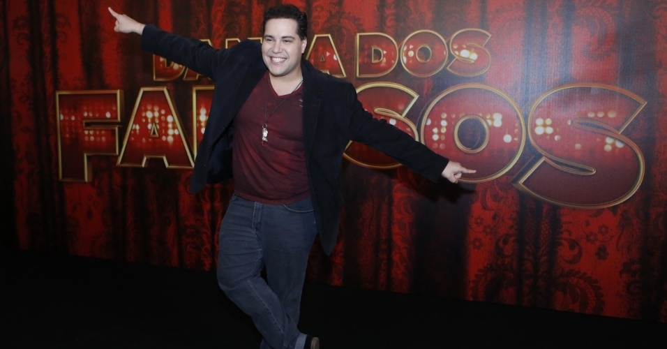 """19.mai.2013 - O ator Tiago Abravanel é um dos participantes da """"Danças dos Famosos  2013"""""""
