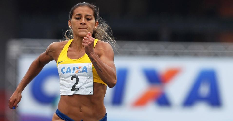 Ana Cláudia Lemos vence 100m em GP de São Paulo
