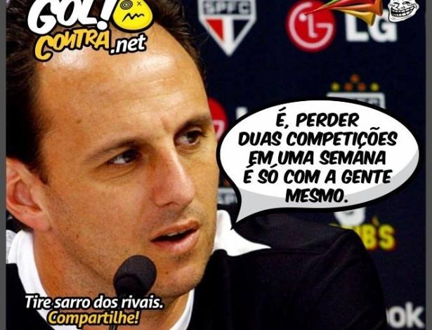 Corneta FC: Rogerio Ceni se conforma com situação do São Paulo