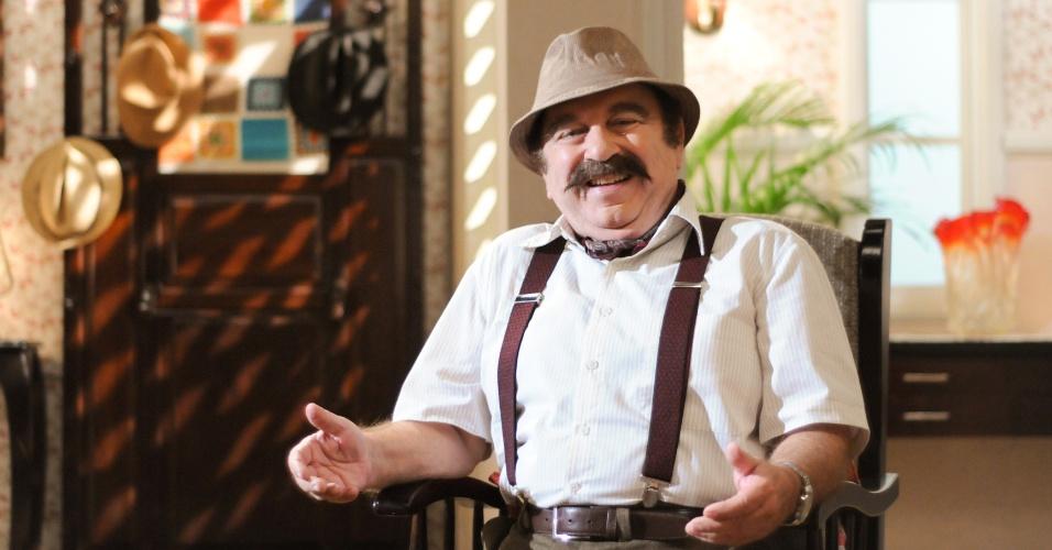 """Castrinho será Ângelo na novela """"Dona Xepa"""""""