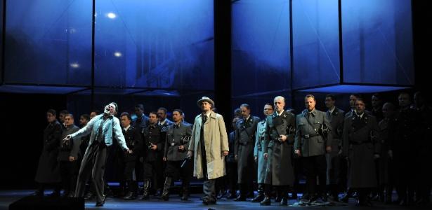 "Ópera ""Tannhäuser"" se passa em campo de concentração - Deutsche Oper am Rhein, Hans Joerg Michel/AP"