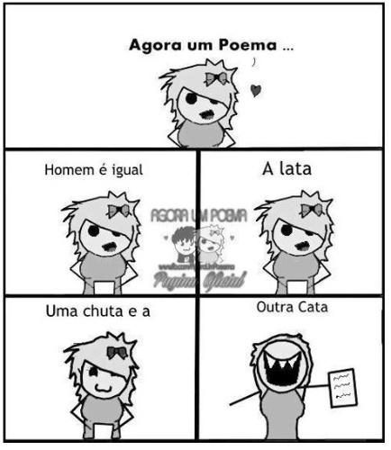 """Meme """"Agora um poema"""""""