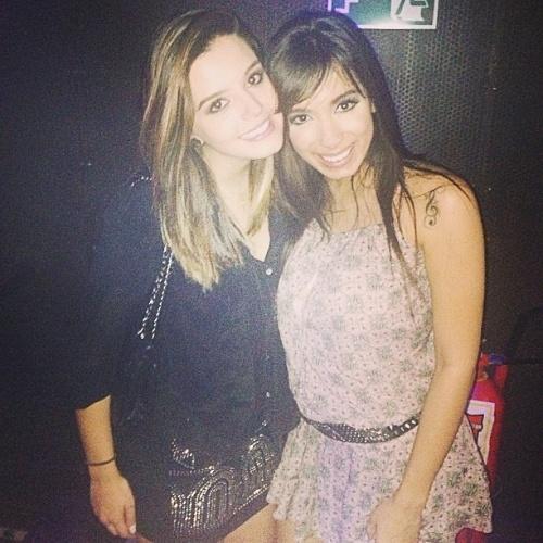 20.mai.2013 - A cantora Anitta prestigiou a festa de aniversário de 20 anos de Giovanna Lancellotti