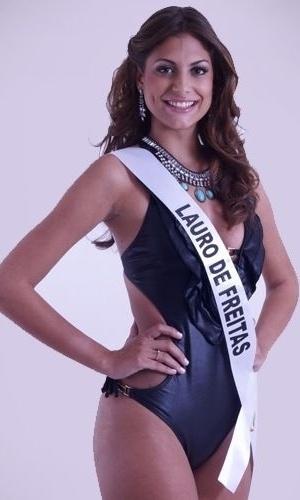20.mai.2013 - Candidata a Miss Bahia 2013