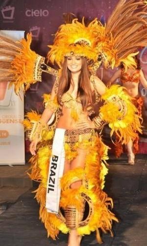21.mai.2013 - Thayana Fernandes, Miss Brasil Teen Universe 2013
