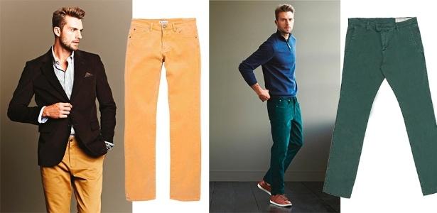 0d8644040fa Calça colorida masculina está na moda. Vai encarar  - 21 05 2013 ...