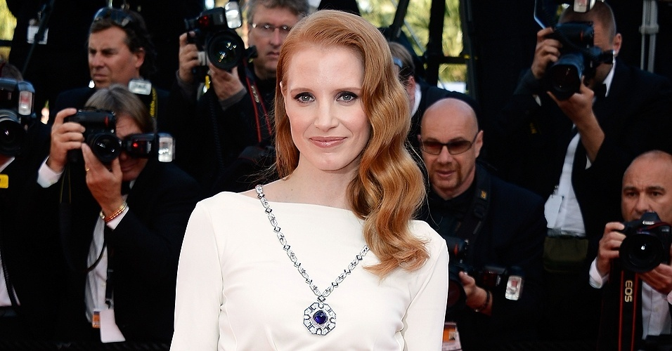 Jessica Chastain em Cannes