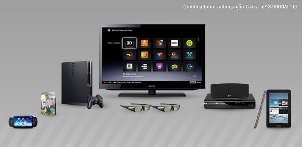 Vencedor do Bolão ganhará TV LED 3D, Playstation e PES 2013