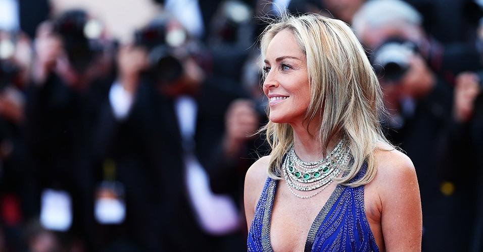Sharon Stone em Cannes