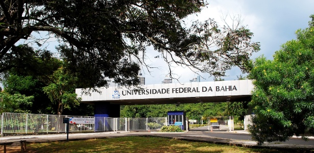 Entrada da Universidade Federal da Bahia, onde trabalha pesquisadora ameaçada