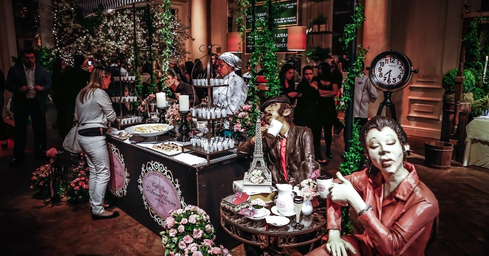 21.mai.2013 - Degustar 2013: bufê de Gislaine Oliveira e decoração de Ana Claudia Del Nero, inspirada em um café parisiense