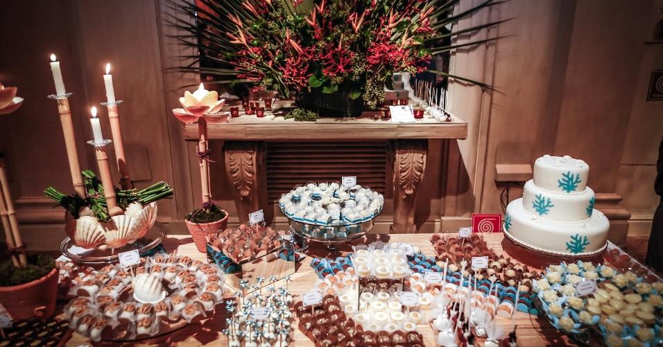 21.mai.2013 - Degustar 2013: mesa da doceria Fête La Fiesta com decoração de Iris Cavinato Alonso