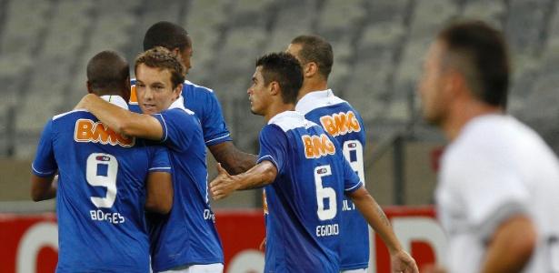 Dagoberto e Borges promovem reuniões familiares durante as folgas no Cruzeiro - Washington Alves/VIPCOMM
