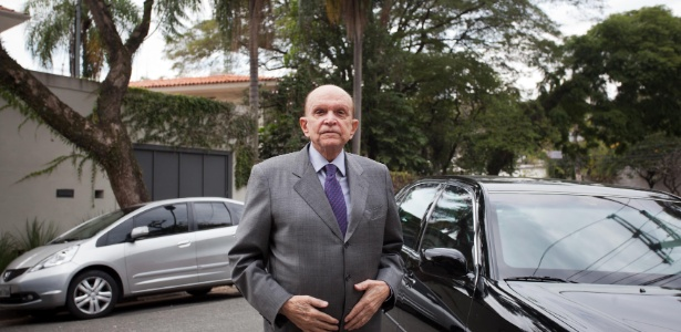 Olacyr de Moraes em 2013; empresário morreu em junho de 2015