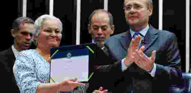 Em 2013, Senado realizou devolução simbólica dos mandatos do ex-senador Luiz Carlos Prestes e seu suplente Abel Chermont - Jonas Pereira - 22.mai.2013/Agência Senado