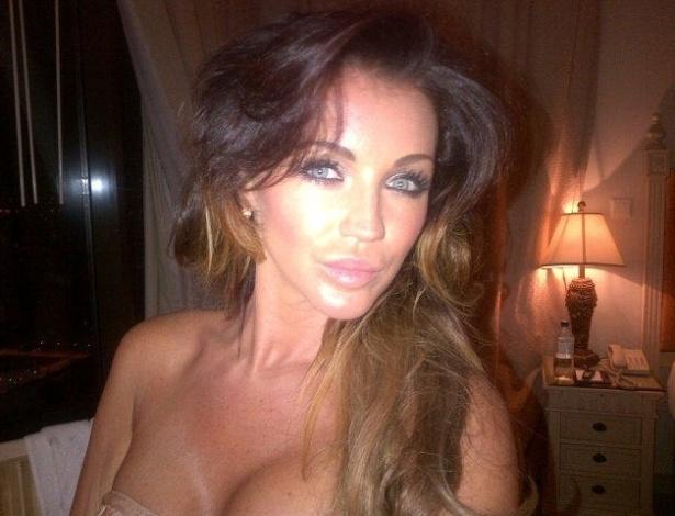 Holly Henderson, modelo e atriz pornô, teve um relacionamento com Balotelli quando o atacante jogou no Manchester City