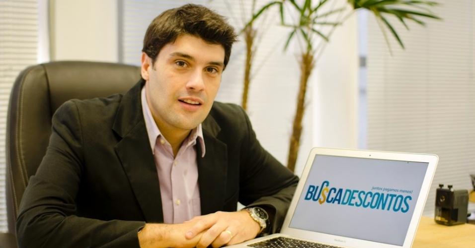 Pedro Eugênio, fundador do site Busca Descontos