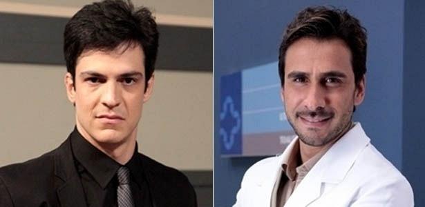 """Em """"Amor À Vida"""", Mateus Solano e Júlio Rocha são Félix e Jacques, respectivamente"""