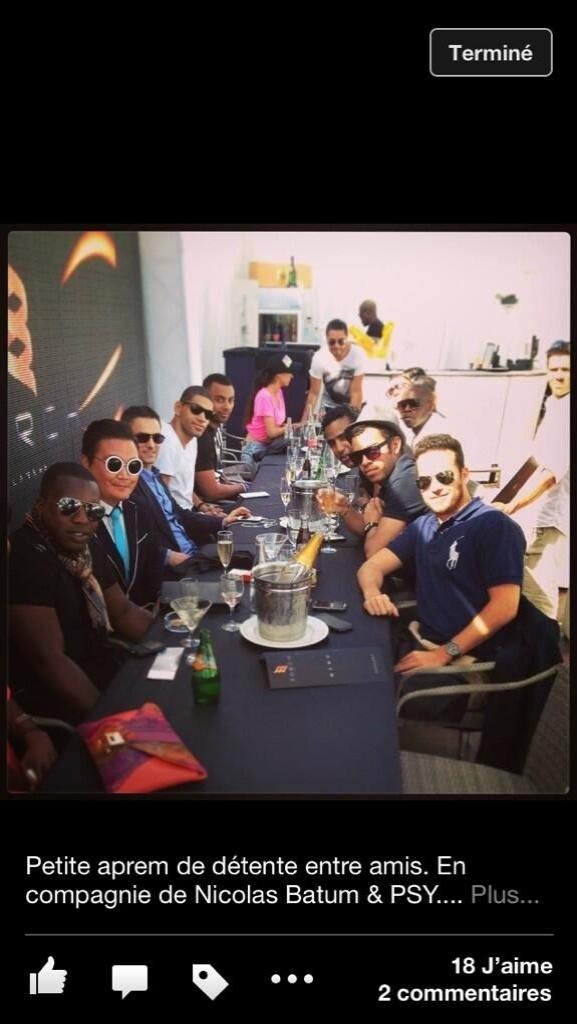 Falso Psy participa de eventos no Festival de Cannes