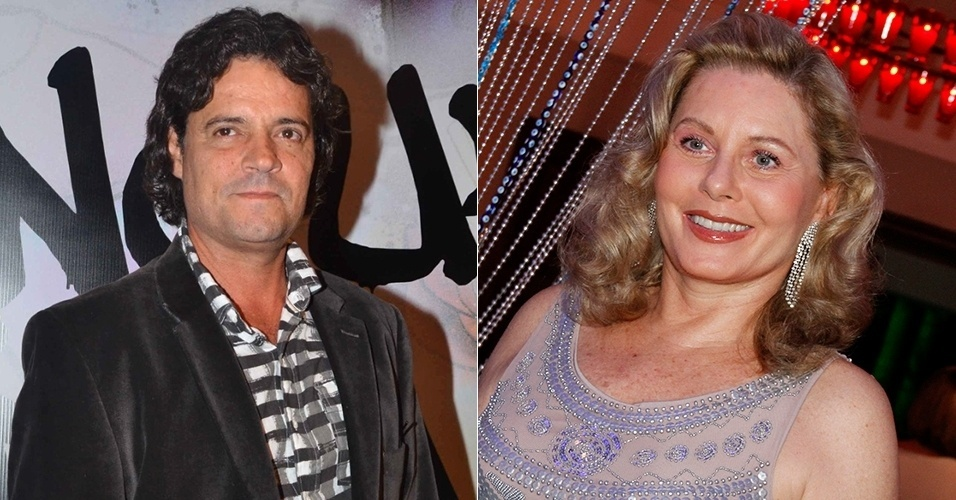 Felipe Camargo e Vera Fisher