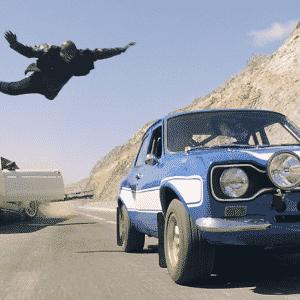 """Ford Mustang 1969 e Ford Escort 1978 de """"Velozes e Furiosos 6"""" - Divulgação"""